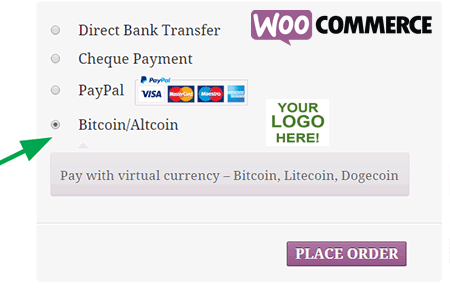 bitcoin payments woocommerce