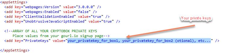 GoUrl io Bitcoin ASP NET MVC C# API Package